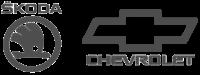 Логотип запчасти Skoda Chevrolet Астана