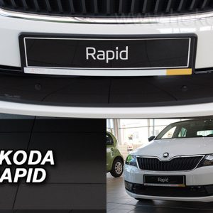 Зимняя-защита-решетки-бампера-skoda-rapid