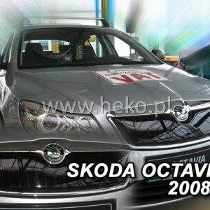 Защита-решетки-радиатор-Octavia A5 2009-