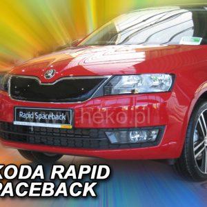 Зимняя защита-на-решетку-радиатора-Skoda-Rapid